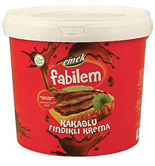 Cream With Cocoa and Hazelnut - Chocolate - FKF-06 - 10000 gr