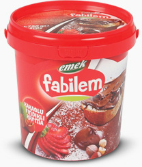 Cream With Cocoa and Hazelnut - Chocolate - FKF-03 - 800 gr